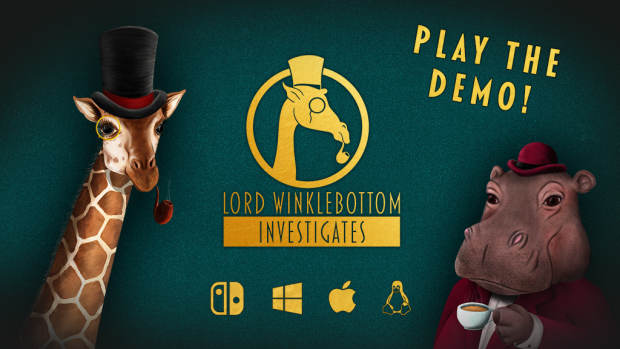 Lord Winklebottom Investigates Kickstarter Demo