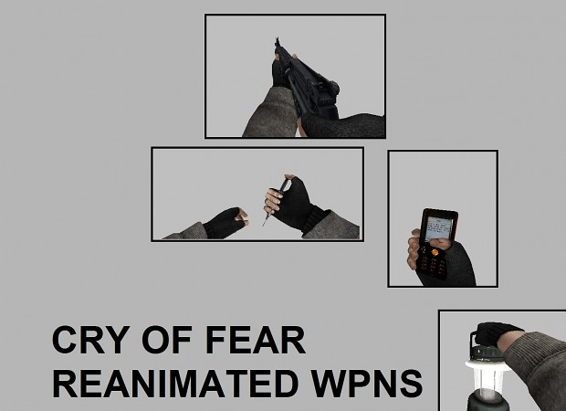 Cry Of Fear Weapon Reanimations: VP70 M16 Lantern Mobile