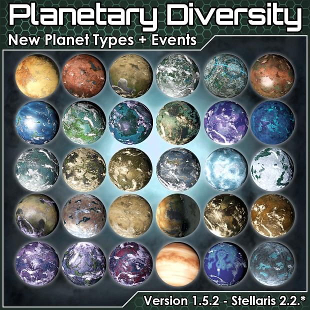 Planetary Diversity 2.2.6
