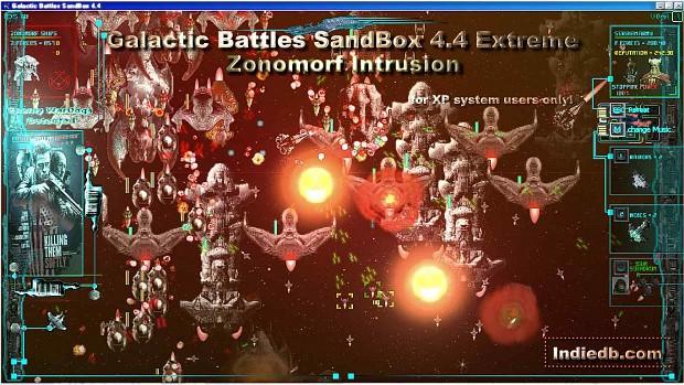 Galactic Battles SandBox 4.4 Extreme: Zonomorf Intrusion