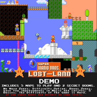 SMB Lost-Land 1.5 (Firts Demo with Setup)