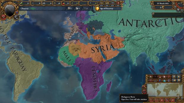 World War 2020 - October 2059 scenario