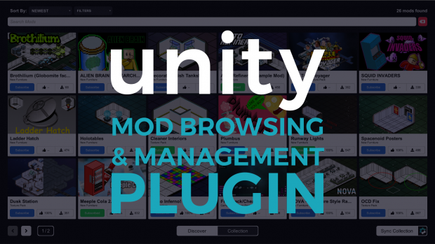 Unity Mod Browser & Manager