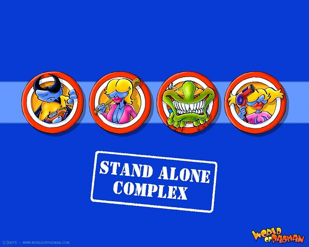 WoP Stand Alone Complex Wallpapers by ENTE