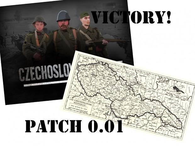 Victory! of the Czechoslovakia patch 0.01 (česká verze)