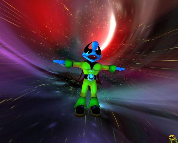 Padman's Space Orbit 3D Screensaver by RastaMan (Win32 installer)