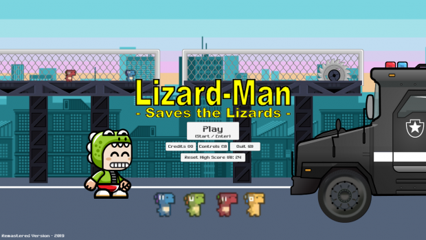 Save the Lizards (Remastered)