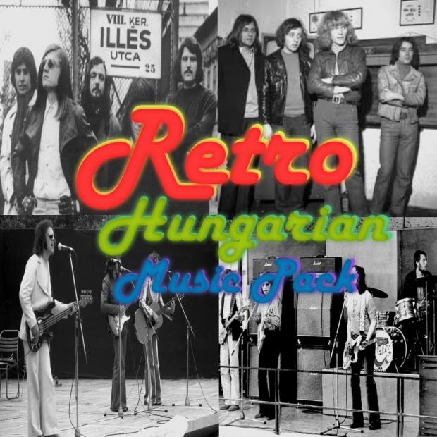 Retro Hungarian Music Pack