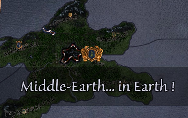 Middle Earth in Earth 0.3.1