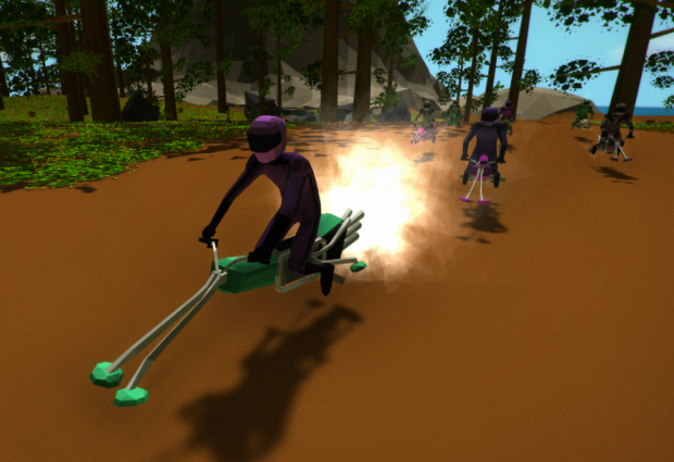 Hoverbike Joust - Alpha 0.0.3 - Windows