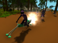 Hoverbike Joust - Alpha 0.0.3 - Linux