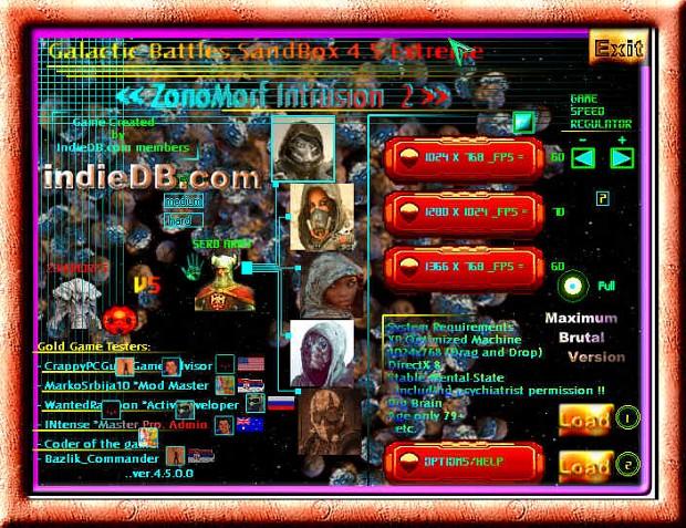 Galactic Battles SandBox 4.5 Extreme