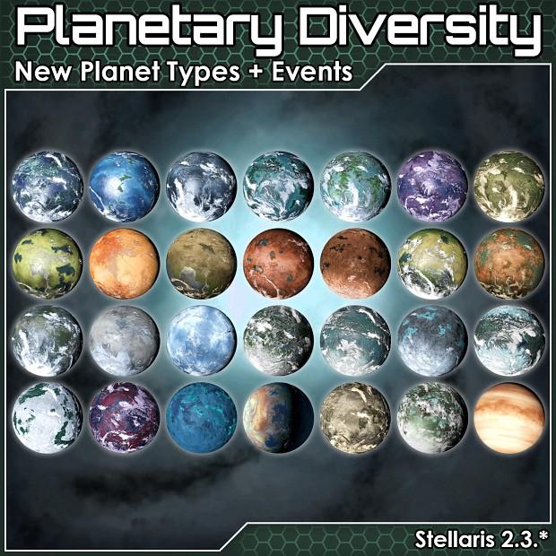 Planetary Diversity 2.3.*