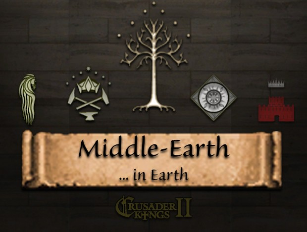 Middle Earth in Earth 0.4.1
