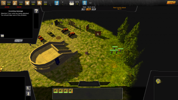 """Version 0.2.0.6 (Pre-Alpha-Demo) of the RTS Game """"The Last Humans"""""""