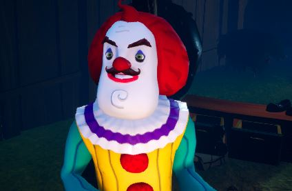 Clown Neighbour (FOR USE IN FULL GAME)