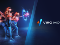 Viro Move Fitness Gaming - Mixed Reality Footage - Weapon Master