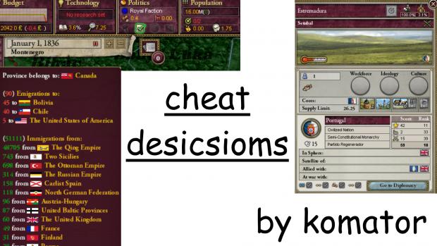 Cheat Descisions v1 Hotfix 1