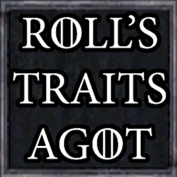 Rolls Community Traits Mod AGOT