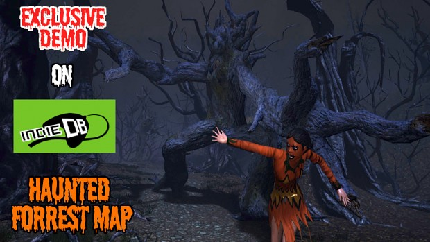 Sinister Halloween Forrest Map demo