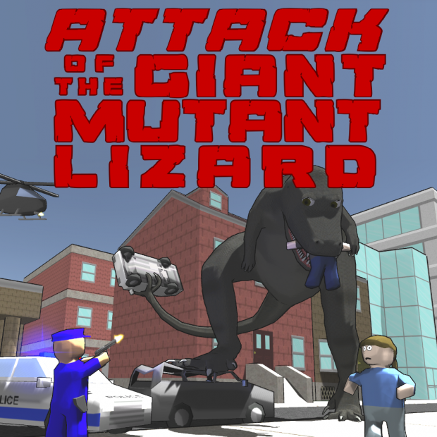 Demo -- Attack of the Giant Mutant Lizard 0.7.4 (Mac)