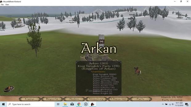 Arkan v0.02
