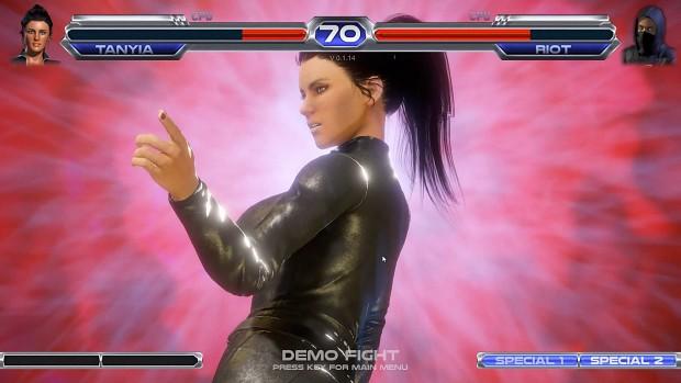 Fighting Generation Demo V0.2.1