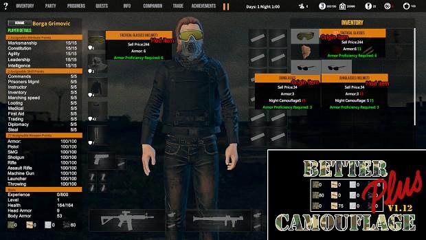 Better Camouflage for v1.12 Plus