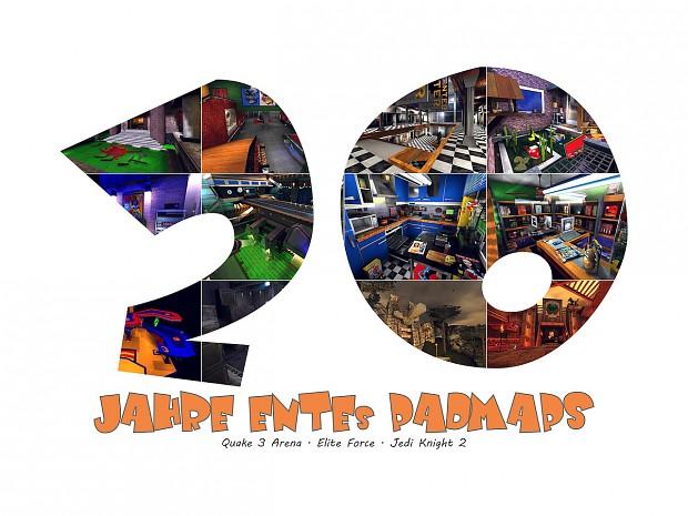 20 Jahre ENTEs PadMaps - [PAD]Community-Kalender 2020 (DE)