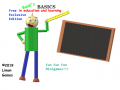 Baldi Basics Fun Fun Fun Minigames On style free exclusive edition