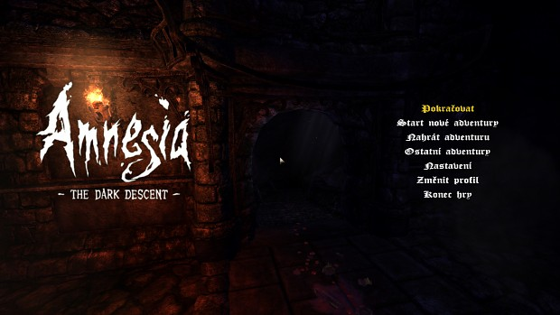 Amnesia Hill: Harold's Story - Czech Translation