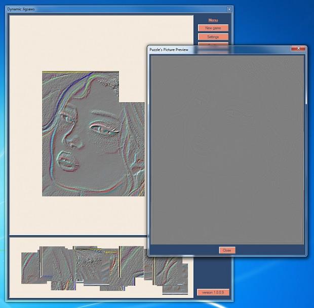 Dynamic Jigsaws version 1.0.0.9