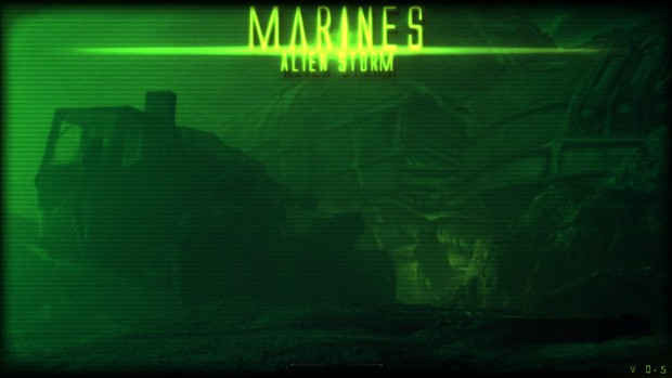 Marines Alien storm 0.5 Demo