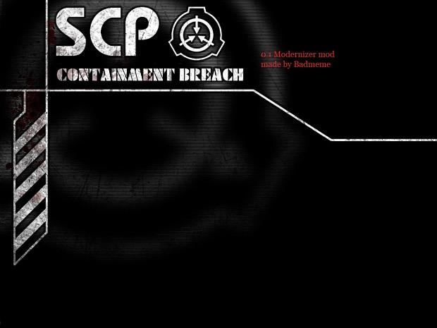 SCP 0.1 Modernizer mod