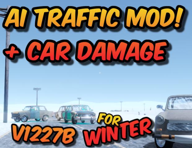 AI Traffic + Car Damage Mod   RELEASE V4