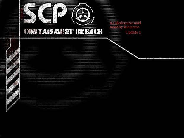 SCP v0 1 modernizer Update 1