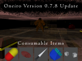 Oneiro Version 0 7 8