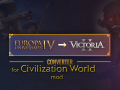 Eu4 to Vic2 converter for Civilization World mod