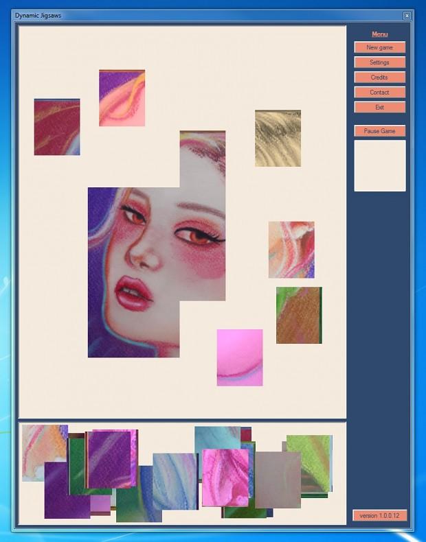 Dynamic Jigsaws version 1.0.0.12