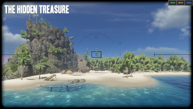 Hidden Treasure Map