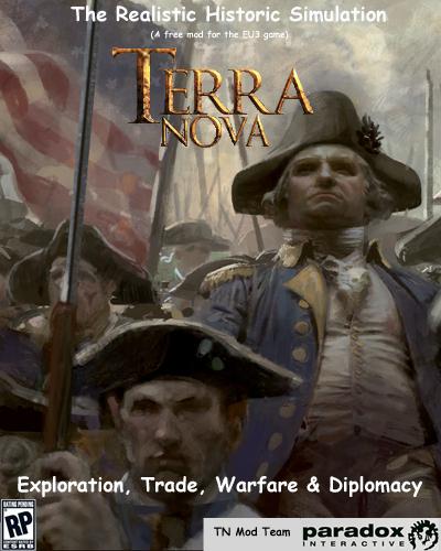 Terra Nova mod Oldmap graphics