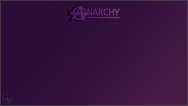 Project Anarchy build 0.9.9.8