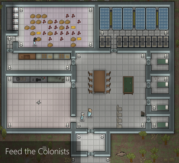 FeedTheColonists for RimWorld 1.1