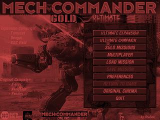 MechCommander PC Game User & fan - package