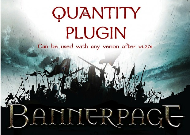 BannerPage QUANTITY Plugin Updated to 2.0