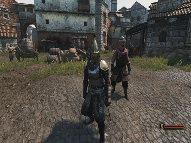 Armour in towns The main file