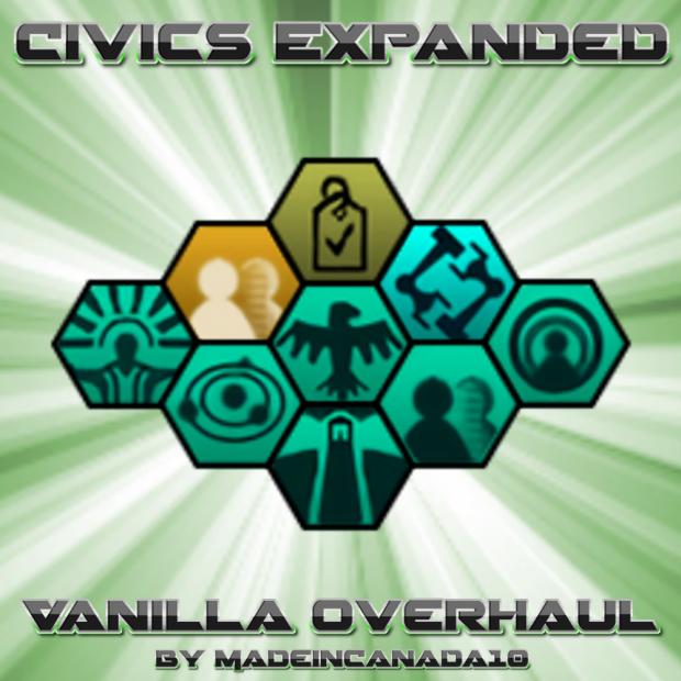 Civics Expanded: Vanilla Overhaul 1.0.1
