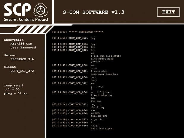 SCP CB Sepia Mod (TINY patch - STILL JOKES)