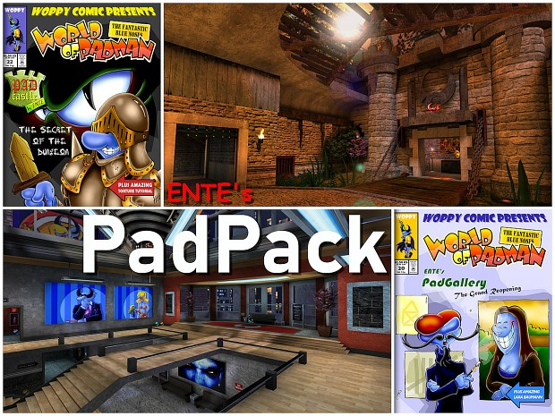ENTE's PadPack for World of Padman (1.5+)