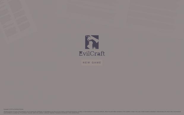 EvilCraft prototype